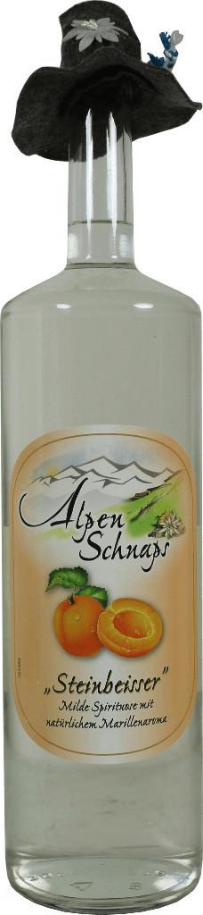 Nannerl Alpenschnaps Steinbeisser Marille 3l 35%