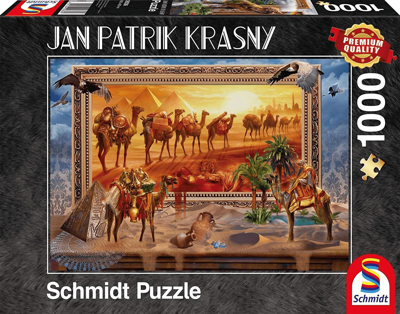 Schmidt-Spiele Jan Patrik Krasny: Die Wüste - Zum Leben erwacht