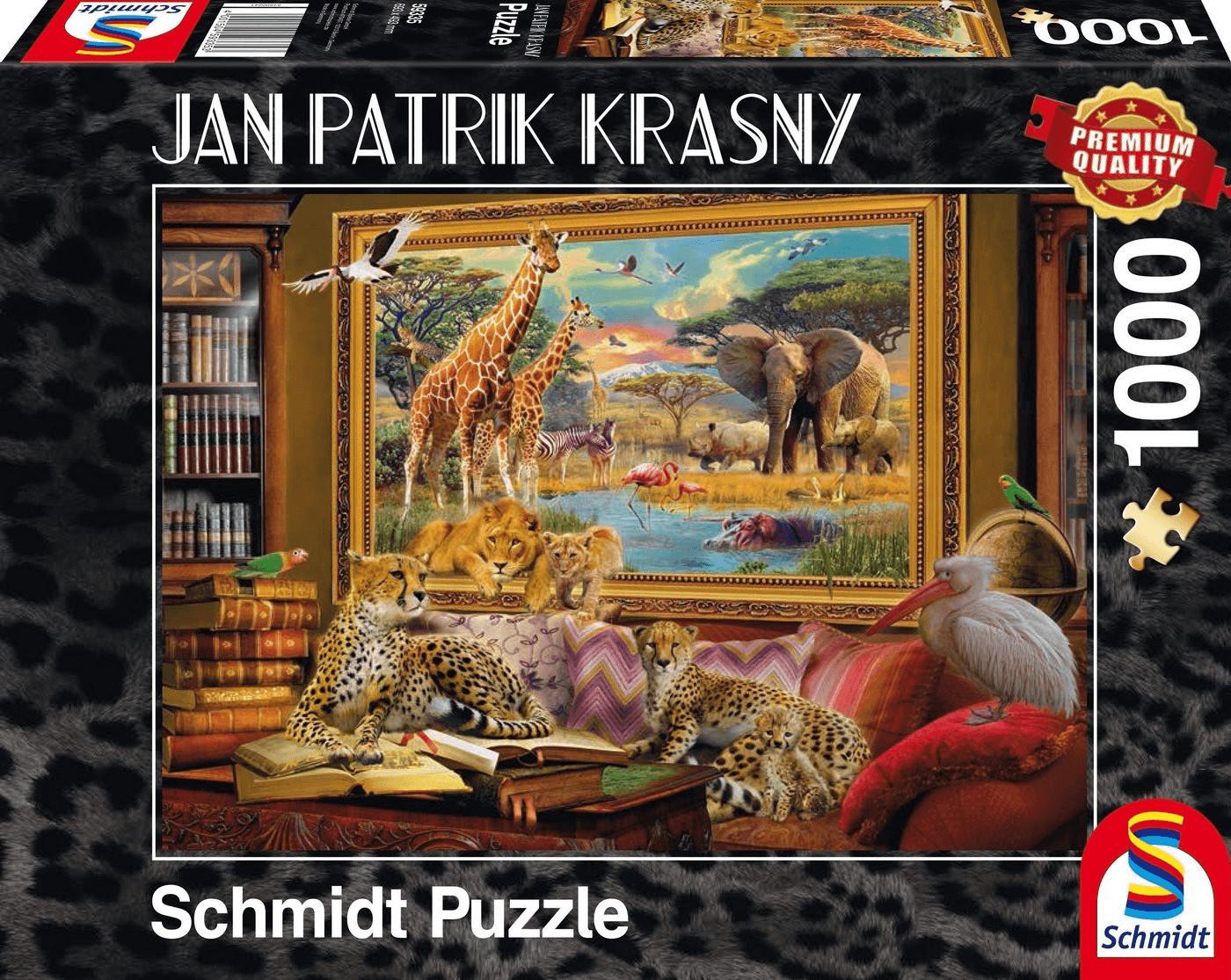 Schmidt-Spiele Jan Patrik Krasny: Die Savanne - Zum Leben erwacht (1000 Teile)