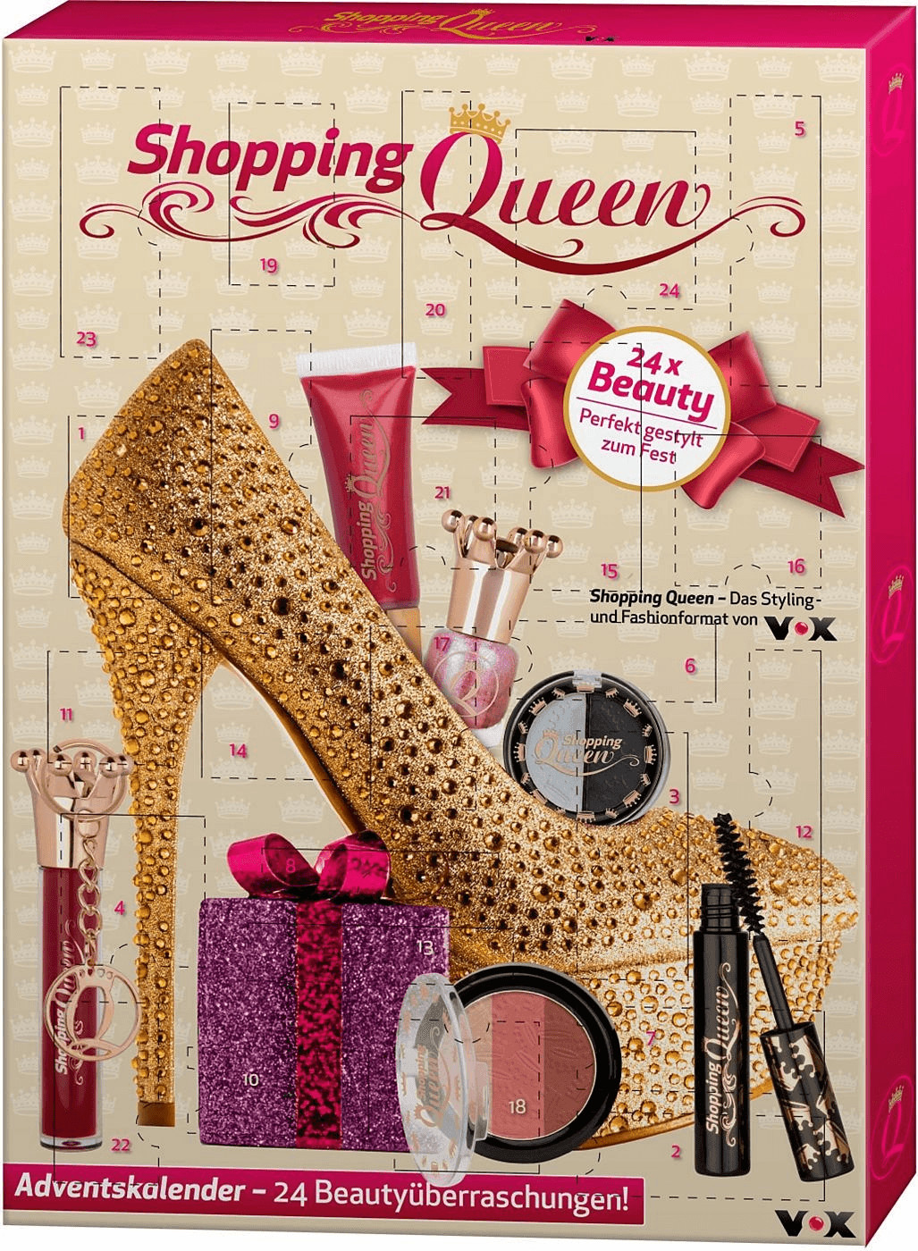 Otto Beauty Adventskalender Shopping Queen (2016)