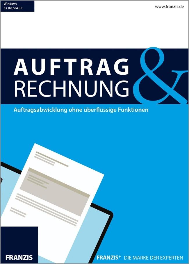 Franzis Auftrag & Rechnung