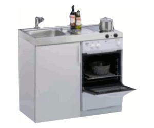 Miniküche mit backofen  Limatec Kitchenline MKB 100 (Elektrokochfeld) ab 739,00 ...