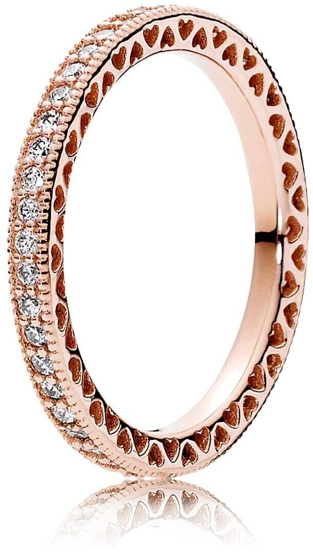 Pandora anillo corazones PANDORA rose 180963CZ-52