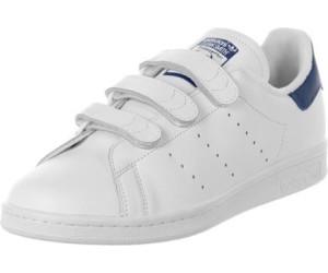 adidas Stan Smith CF, Chaussures de Gymnastique Homme, Blanc (Footwear White/Footwear White/Collegiate Royal), 36 EU
