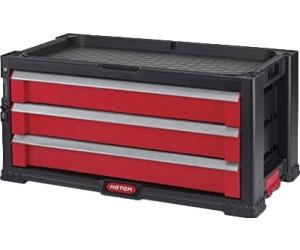 keter werkzeugkoffer mit 3 schubladen 17199303 ab 38 40 preisvergleich bei. Black Bedroom Furniture Sets. Home Design Ideas