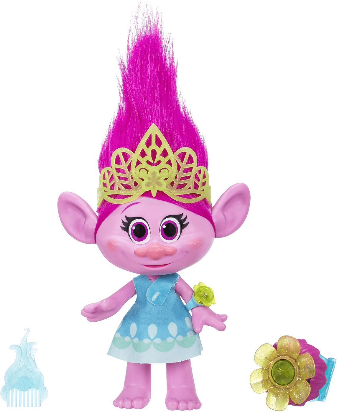 Hasbro Trolls Kuschelzeit Poppy (B65681)
