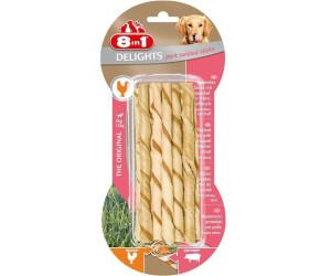8in1 Delights Pork Twisted Sticks