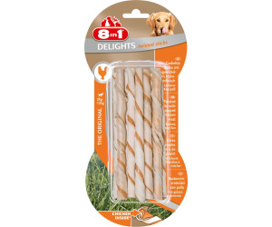 8in1 Delights Chicken Twisted Sticks