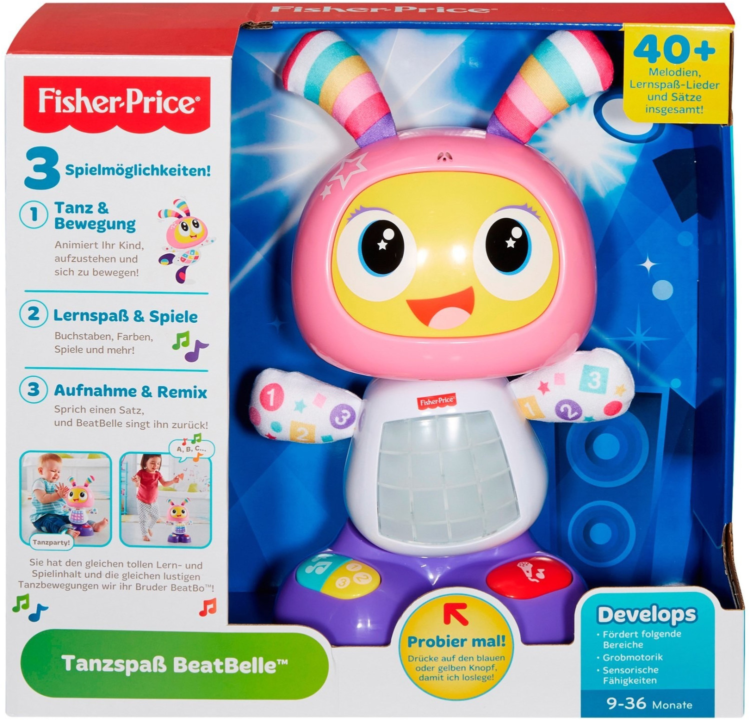 Fisher-Price Tanzspaß Beat Belle