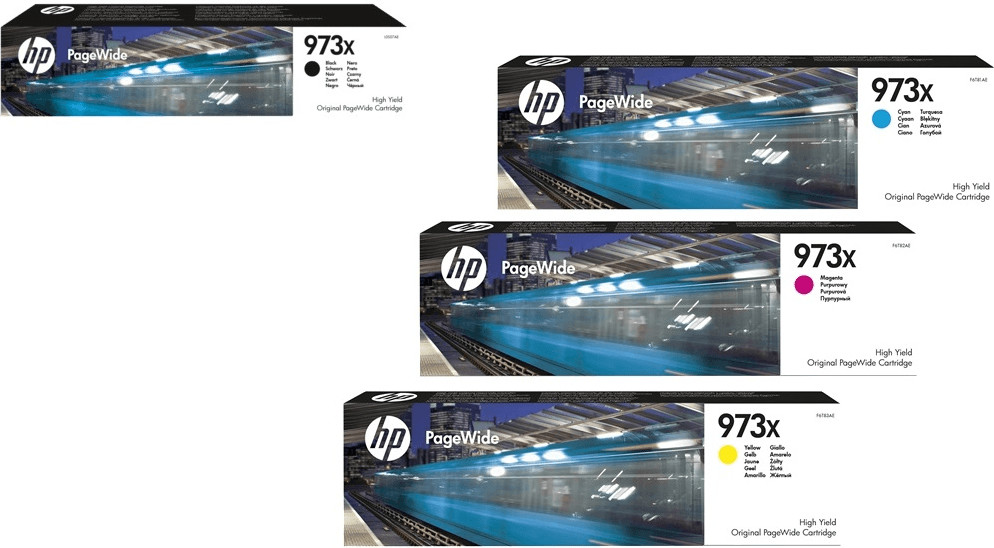 HP Nr. 973X 4-farbig