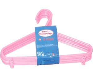 Bieco Kleiderbügel Kunststoff 8-Stk. rosa