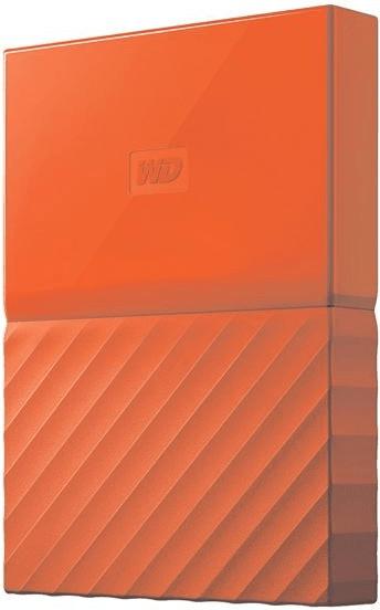 Western Digital My Passport 1TB naranja