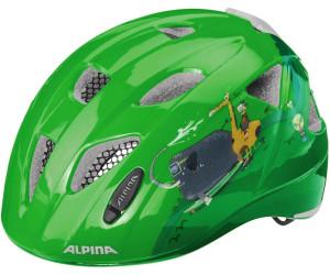 Alpina Fahrrad Kinderhelm Fahrradhelm Ximo Flash dino 49-54 cm