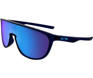 Oakley Trillbe Iridium Sonnenbrille Schwarz/Blau 9TnaXdCK