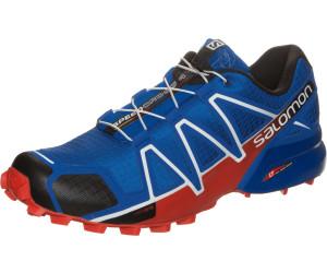 fa656763865 Salomon Speedcross 4 blue yonder black lava orange. Salomon Speedcross 4  Running Shoes