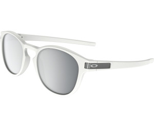 8771056f1a Buy Oakley Latch OO9265-16 (matte white chrome iridium) from £84.00 ...