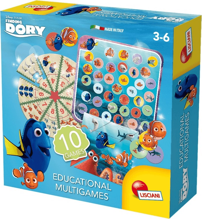 Lisciani Finding Dory - Educational Multigames