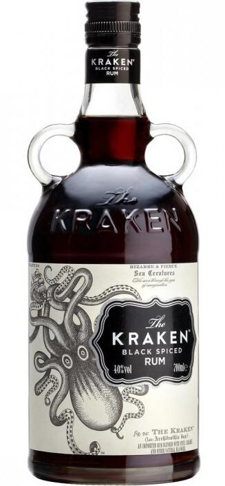 The Kraken Black Spiced 40%
