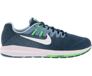 Details zu HERREN Nike Air Zoom Structure 20 Schuhe Größe 7 Weiß Schwarz Blustery 849576