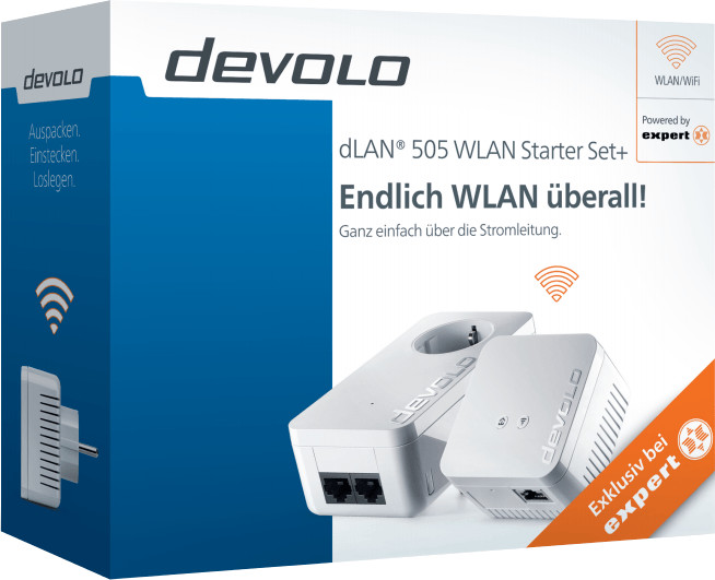 devolo 505 WLAN Starter Set+