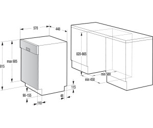 gorenje gi 51010 x ab 223 00 preisvergleich bei. Black Bedroom Furniture Sets. Home Design Ideas