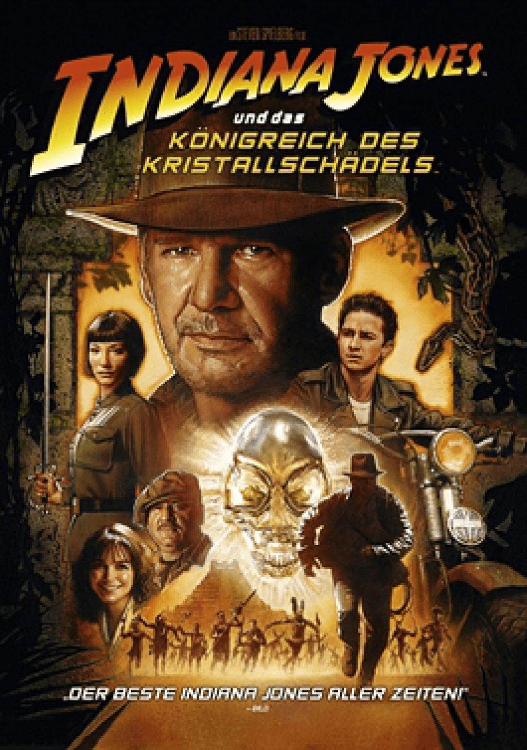 Indiana Jones und das Königreich des Kristallschädels [DVD]