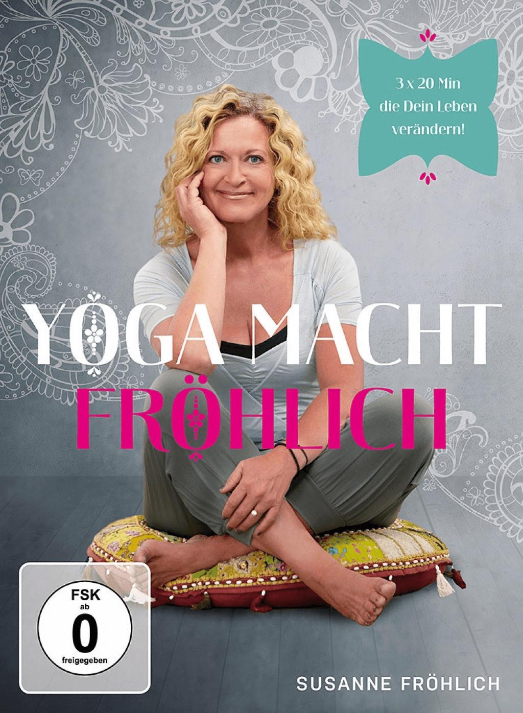#Susanne Fröhlich – Yoga macht Fröhlich [DVD]#