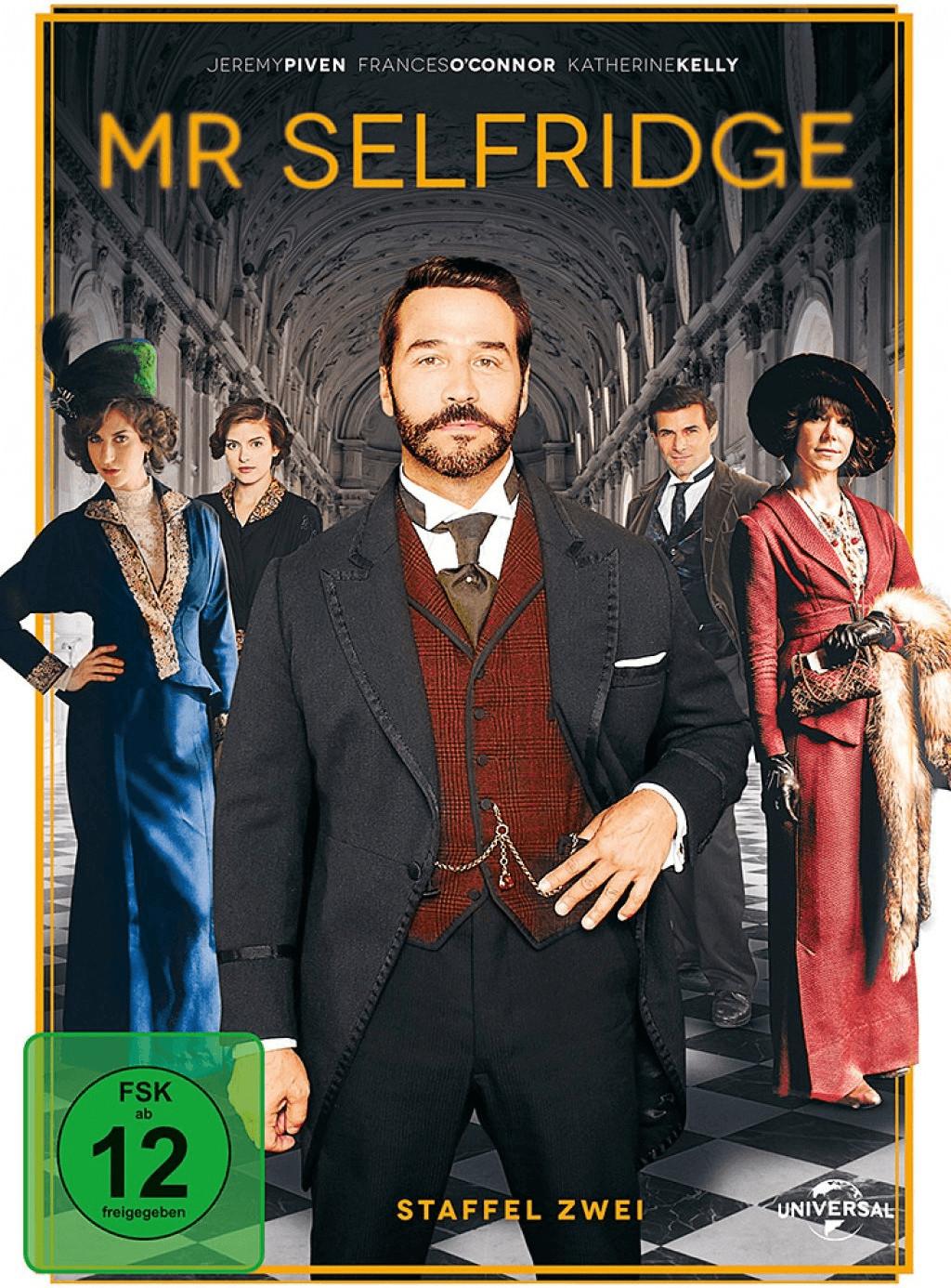 Rabatt Preisvergleichde Mr Selfridge Staffel 2 3 Dvds