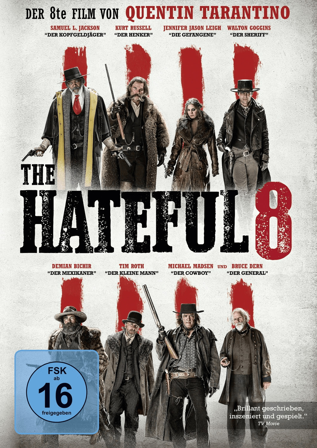 The Hateful 8 [DVD]