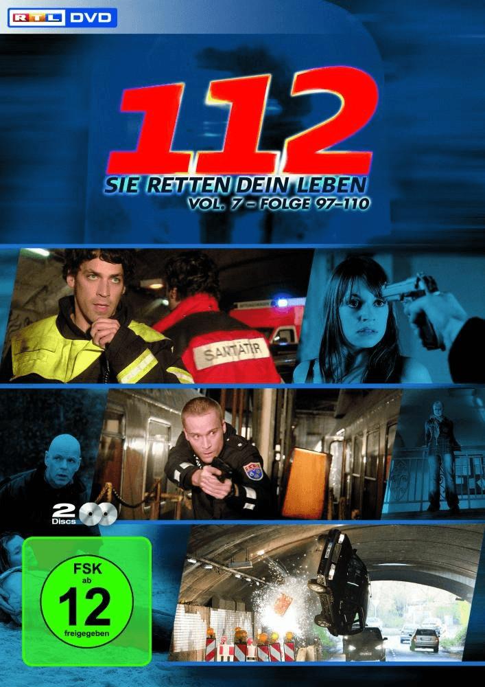 112 - Sie retten dein Leben, Vol. 7, Folge 97-110 [2 DVDs]