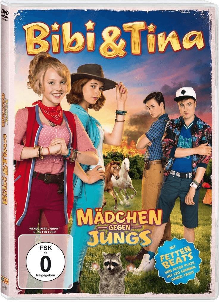 Bibi & Tina - Mädchen gegen Jungs! [DVD]