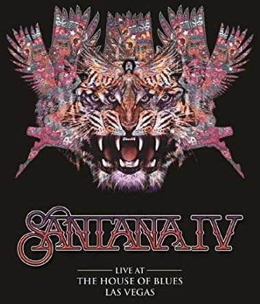 Image of Santana IV - Live At The House of Blues Las Vegas (+ 2 Audio-CDs) [2 DVDs]
