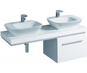 Keramag silk waschtischplatte wei 816642 ab 372 27 preisvergleich bei - Waschtischplatte weiay ...