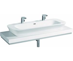Keramag silk waschtischplatte wei 81664 ab 372 27 preisvergleich bei - Waschtischplatte weiay ...