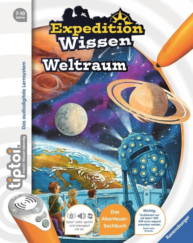 Ravensburger tiptoi Wissen Weltraum