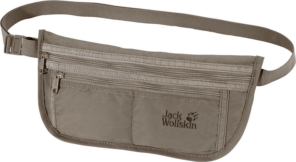 Jack Wolfskin Document Belt De Luxe silver mink