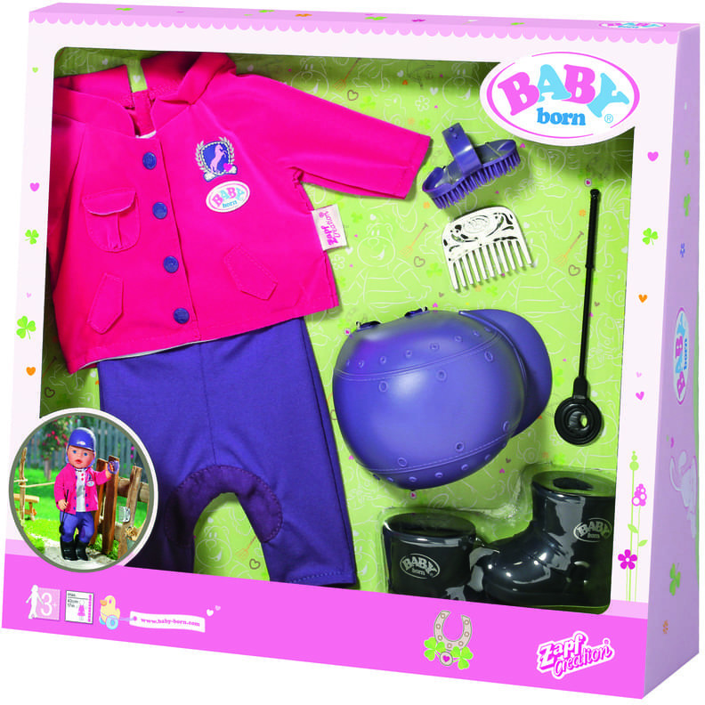 Baby Born Pony Farm Deluxe Reit-Outfit (822340)