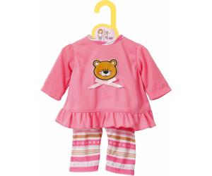 Puppenkleidung Kinderspielzeug Zapf 870075 Dolly Moda Pyjama 38-46 cm