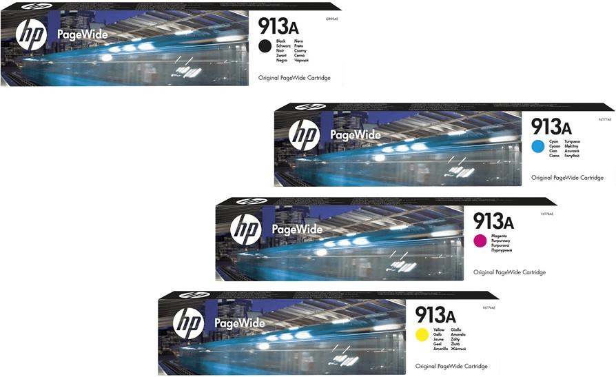 HP Nr. 913A 4-farbig