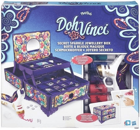 Hasbro Doh Vinci Boite à bijoux magique