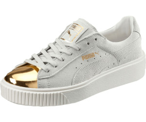 ad0d3aa88c2012 Puma Suede Platform Gold Women s Trainers ab 69