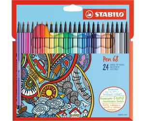 mit 12 verschiedenen Farben STABILO Pen 68-12er Pack Premium-Filzstift