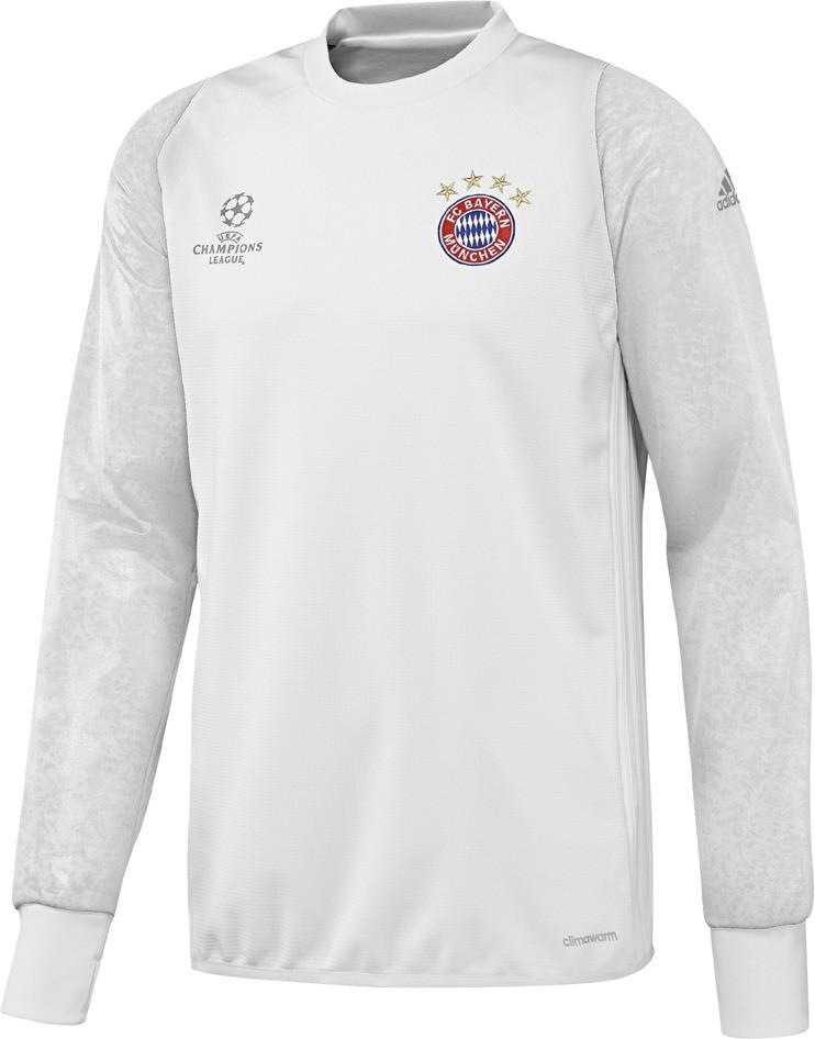 adidas FC Bayern Munchen UCL TRG Top Sudadera, Hombre, (Blanco/Buruni), XL