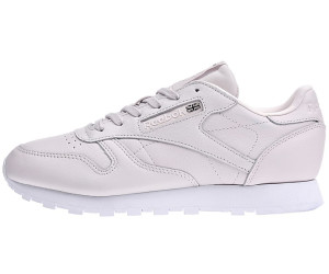 Reebok x FACE – Classic Leather Spirit– Ledersneaker in Silber