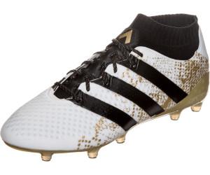 Buy Adidas Ace 16.1 Primeknit FG Men white core black gold metallic ... 56098073b4