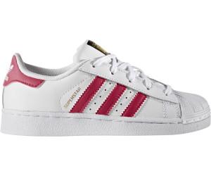a25b0b15e78052 Adidas Superstar Foundation Jr white bold pink white (BA8382) ab 42 ...