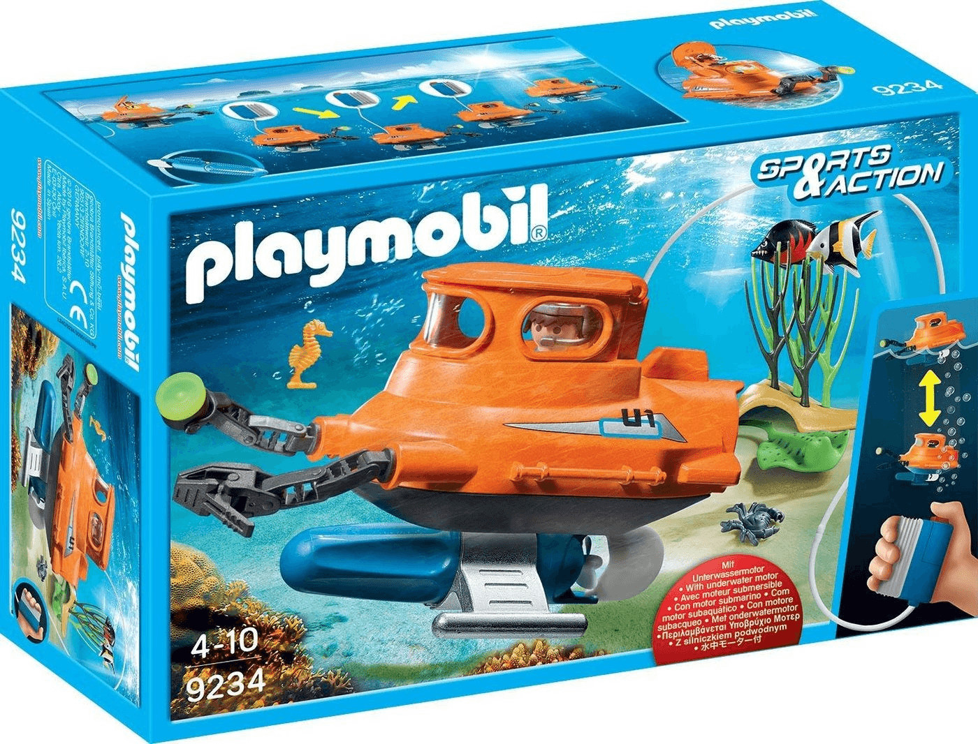 Playmobil Sports & Action - U-Boot mit Unterwas...