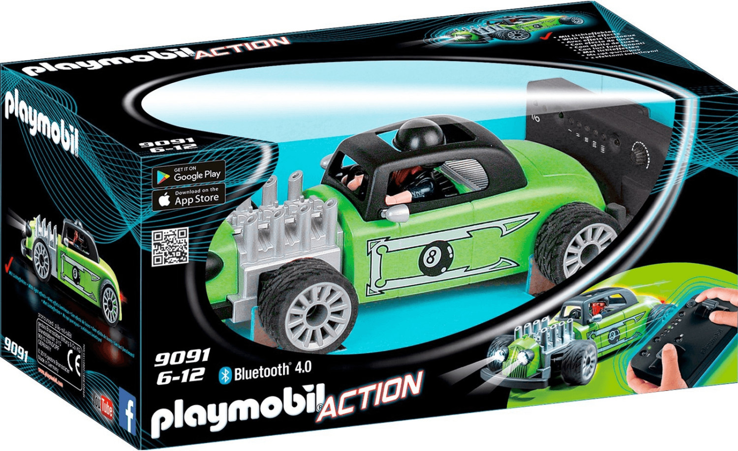Playmobil Action - RC Rock´n´Roll-Racer (9091)