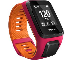 TomTom Runner 3 Cardio bracelet fin rose/orange