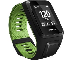 TomTom Runner 3 Cardio - black/green - Large